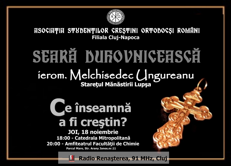 afis Melchisedec Ungureanu
