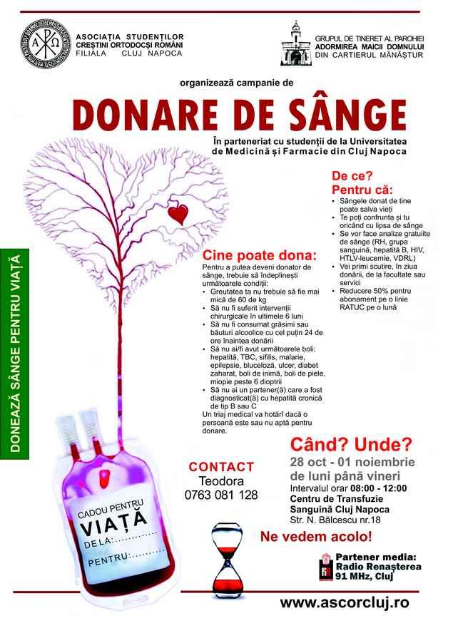 AFIS DONARE DE SANGE PENTRU SITE