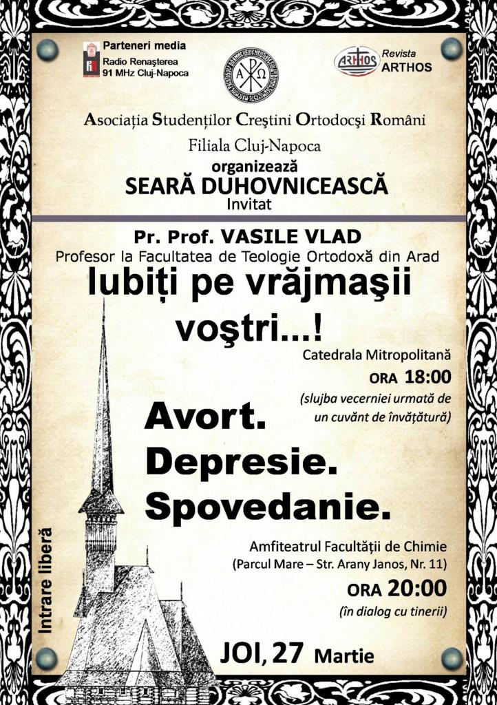 Pr Vasile Vlad SITE