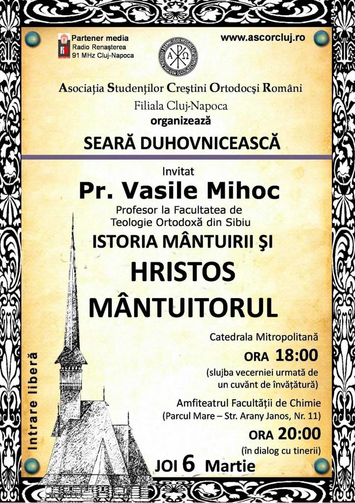 Pr. Vasile Mihoc