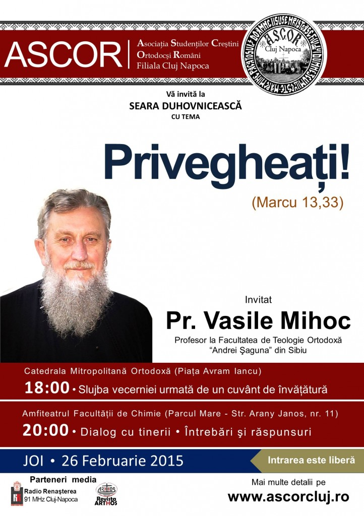 Pr. Vasile Mihoc ascor cluj
