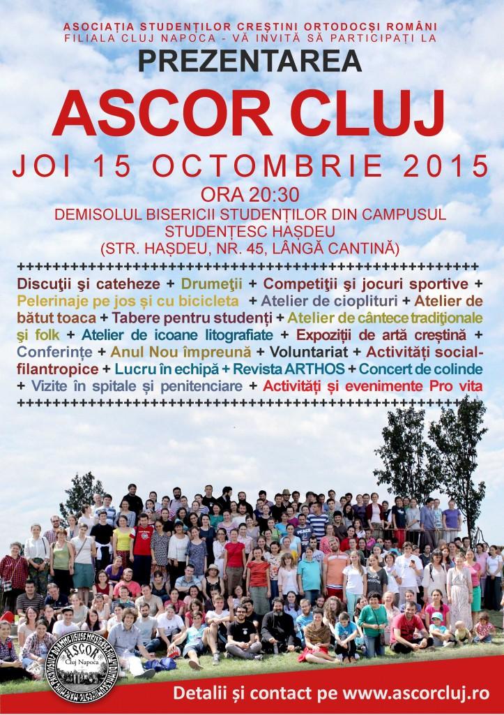 AFIS PREZENTARE ASCOR CLUJ 2015 SITEEEEE
