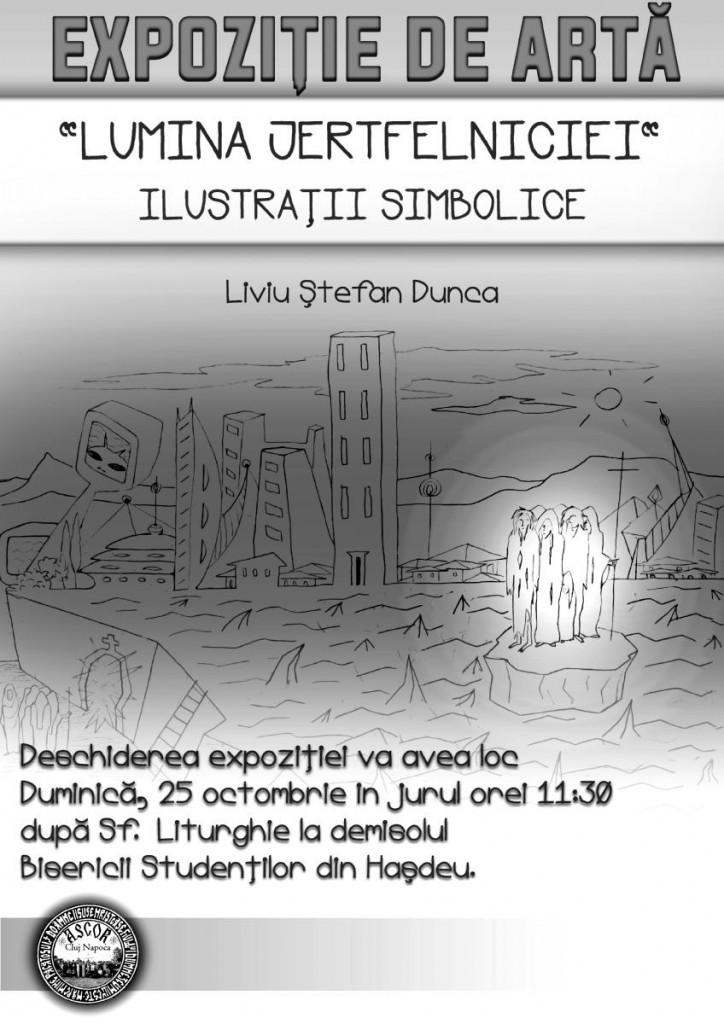 Expozitie - Liviu Dunca Biserica studentilor - ASCOR Cluj