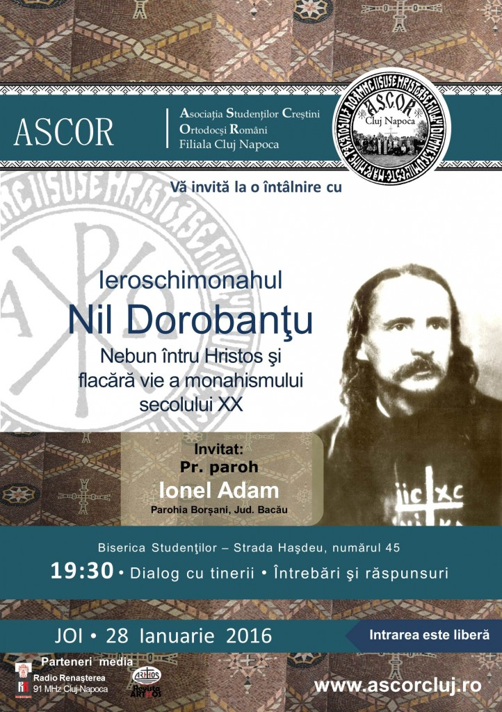 Pr. Ionel Adam + Nil Dorobantu ASCOR CLUJ