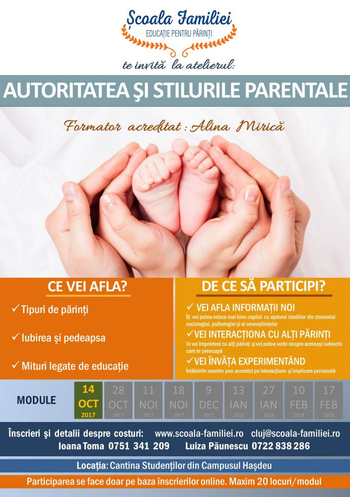 Educatia parintilor in beneficiul copiilor